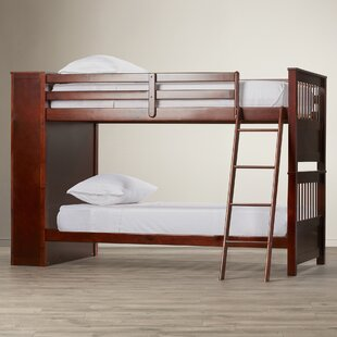 Oliver Twin Bunk Bed with Bookcase