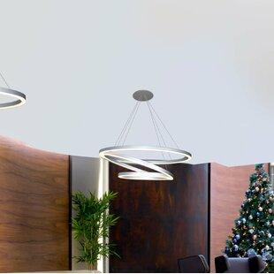 Rojas WiFi-Enab LED Chandelier by Orren Ellis