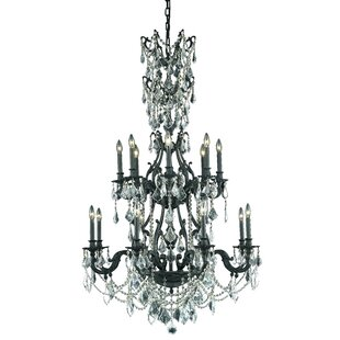 Astoria Grand Almont 16-Light Candle Style Chandelier