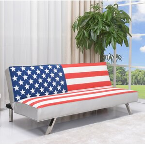 American Flag Convertible Sofa by Gold Sparrow