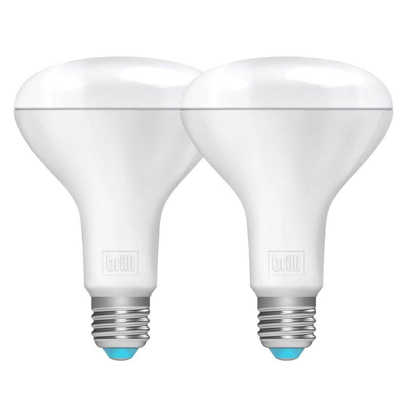 Brilli Wellness 9 5 Watt 65 Watt Equivalent Br30 Led Dimmable Light Bulb Daylight 5000k E26 Medium Standard Base Reviews Wayfair