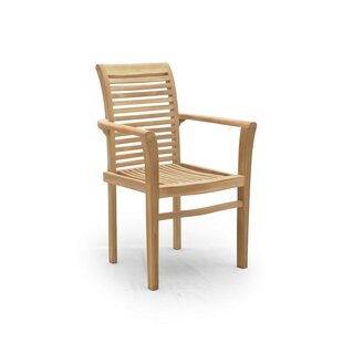 Nicia Stacking Garden Chair By Sol 72 Outdoor