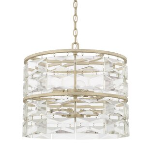 House of Hampton Widmer 6-Light Drum Chandelier