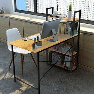 Winston Porter Herald Desk with Hutch