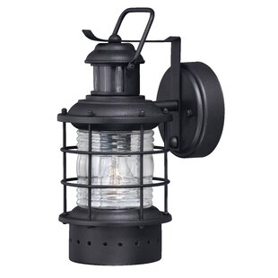 Griffin Modern 1-Light Outdoor Wall Lantern