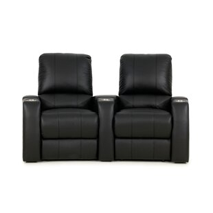 Red Barrel Studio Home Theater Loveseat (Row of 2)