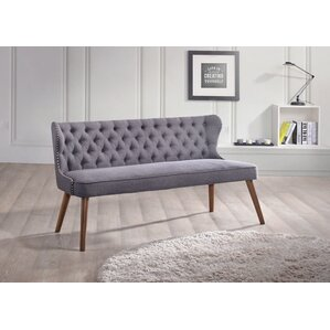 Santo Wood Upholstered Loveseat by Wholesale Interiors