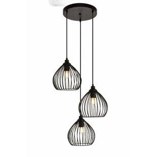 Wrought Studio Mullin 3-Light Cluster Pendant