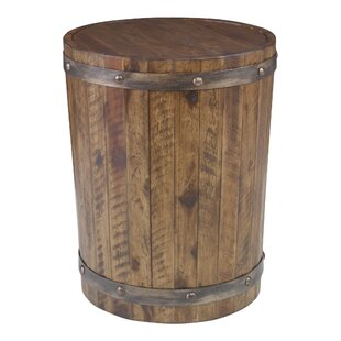 Berkshire Wine Barrel End Table by Loon P..