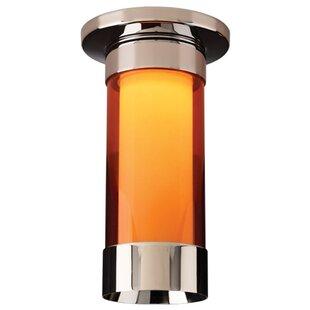 Bruck Lighting Silva 1-Light Flush Mount