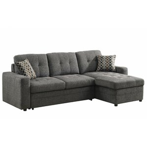Sleeper Sectional Sofas Youll Love Wayfair - Convertible sofa bed sectional