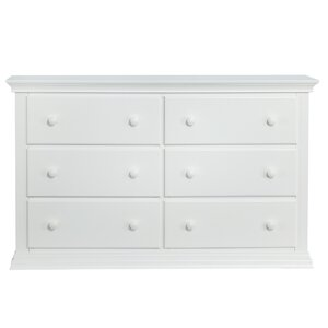 Universal 6 Drawer Double Dresser