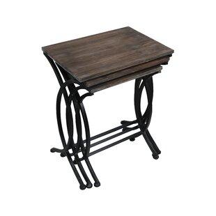 Emelina 3 Piece Nesting Table Set