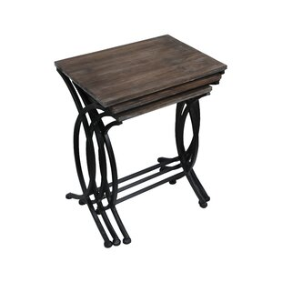 Emelina 3 Piece Nesting Table Set