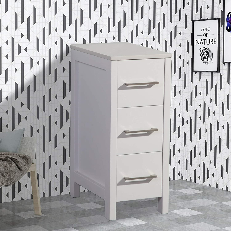 Wrought Studio Mitesh Side Cabinet 12 Bathroom Vanity Set Wayfair