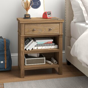 Leatrice 1 Drawer Nightstand