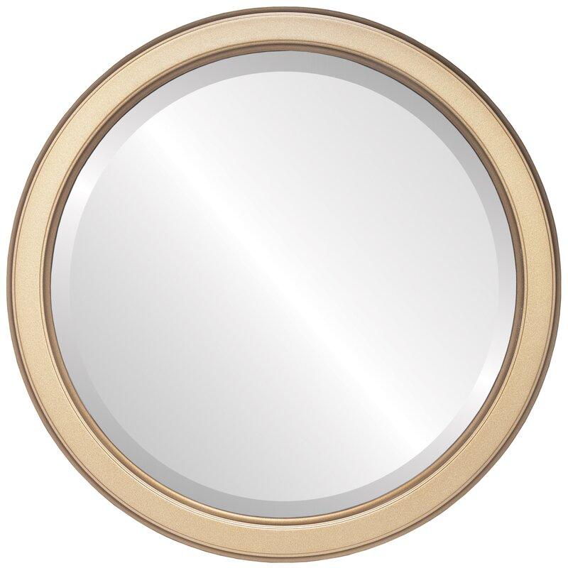 Winston Porter Midville Traditional Beveled Accent Mirror Wayfair