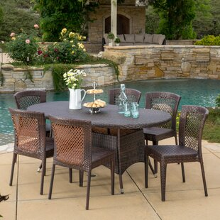 Holcomb 7 Piece Dining Set by Bayou Breeze