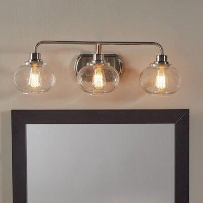 Beachcrest Home Braxton 3-Light Vanity Light & Reviews   Wayfair