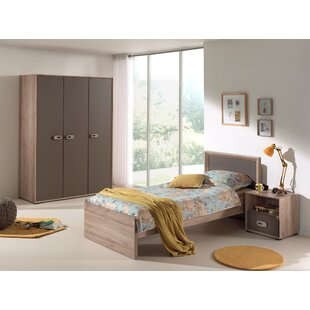 Emiel 3 Piece Bedroom Set by Vipack