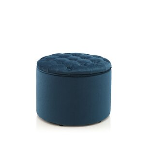 Tufted Storage Ottoman by Meelano