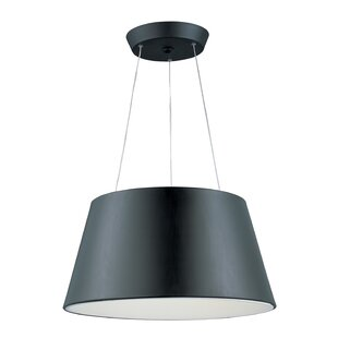 Orren Ellis Callan 1-Light LED Cone Pendant