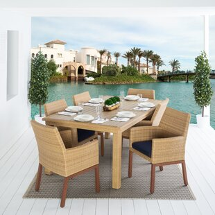 Bayou Breeze Addison 7 Piece Dining Set