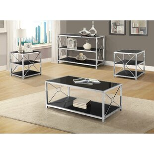 Orren Ellis Weathersby 3 Piece Coffee Table Set