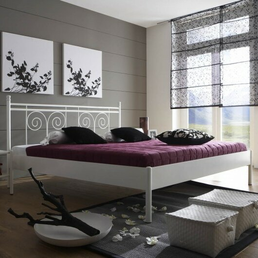 sam stil art m bel gmbh metallbett kreta. Black Bedroom Furniture Sets. Home Design Ideas