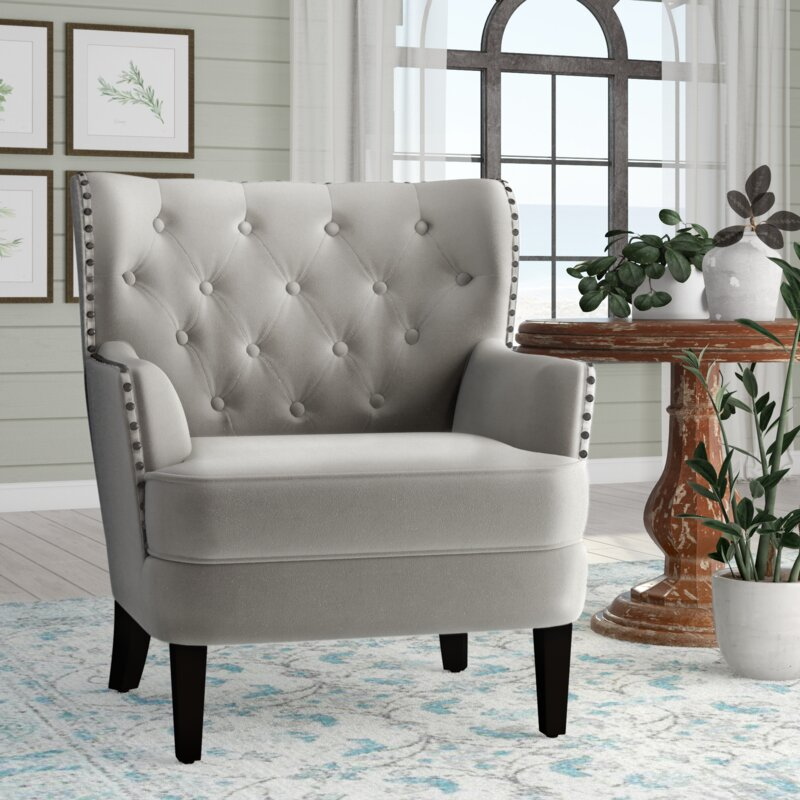 Laurel Foundry Modern Farmhouse Ivo Wingback Chair