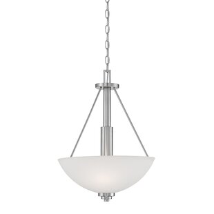 Hester 3-Light Bowl Pendant by Andover Mills