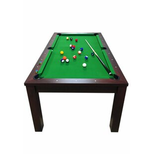 Missisipi Model 6.7' Pool Table with Snooker Full Accessories by Simba USA Inc