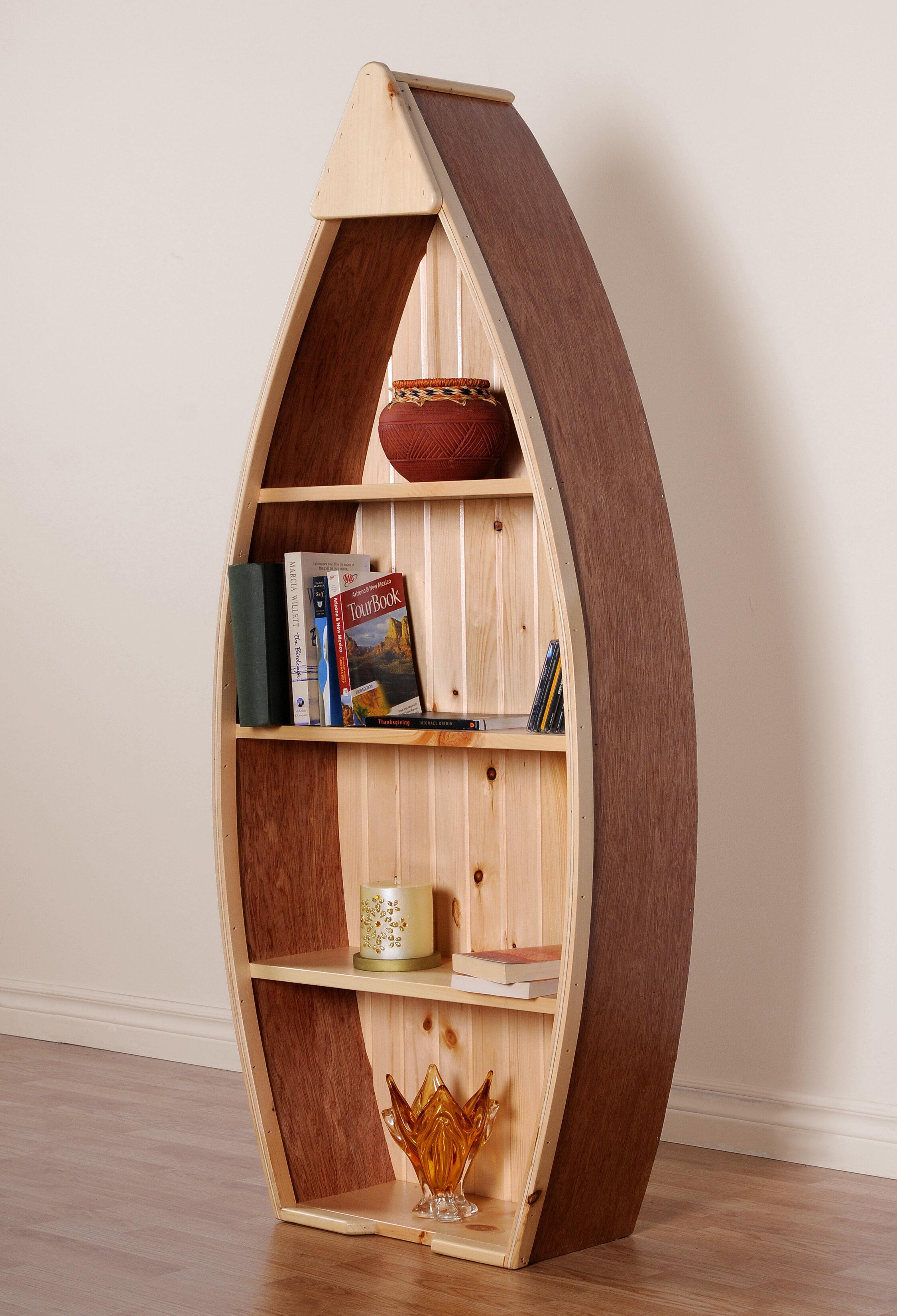 Rabin Canoe Boat Bookcase
