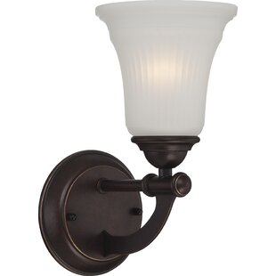Brillion 1-Light Bath Sconce by Charlton Home