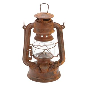RetailSource Rusted Tin Oil Lantern