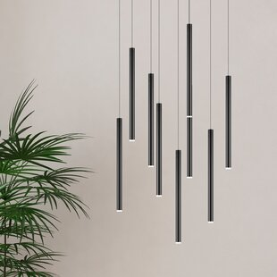 Baileyton 9-Light LED Cluster Pendant by Ivy Bronx