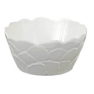Botanical 22 oz. Round Galax Leaf Melamine Cereal Bowl (Set of 4)