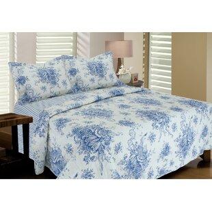 Eila Reversible Cotton Quilt Set