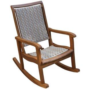 modern outdoor rocking chairs allmodern