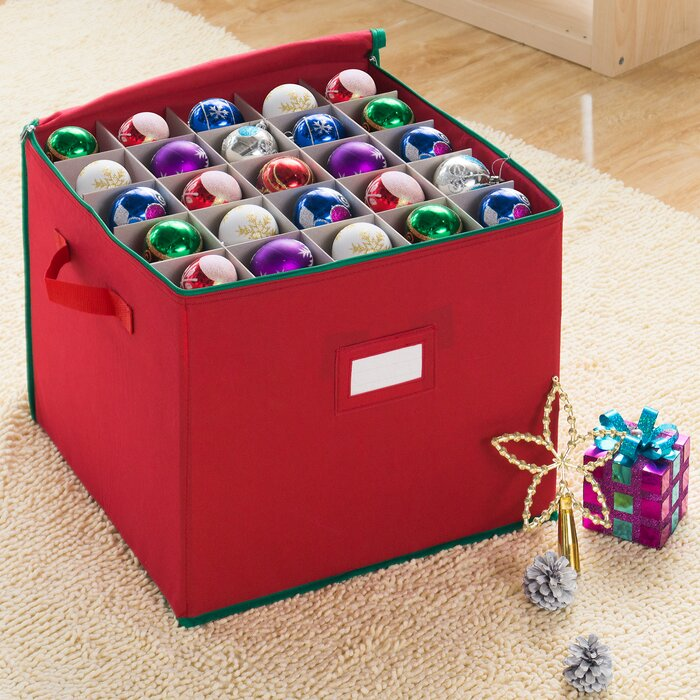 Christmas Ornament Storage.Christmas Ornament Storage Chest