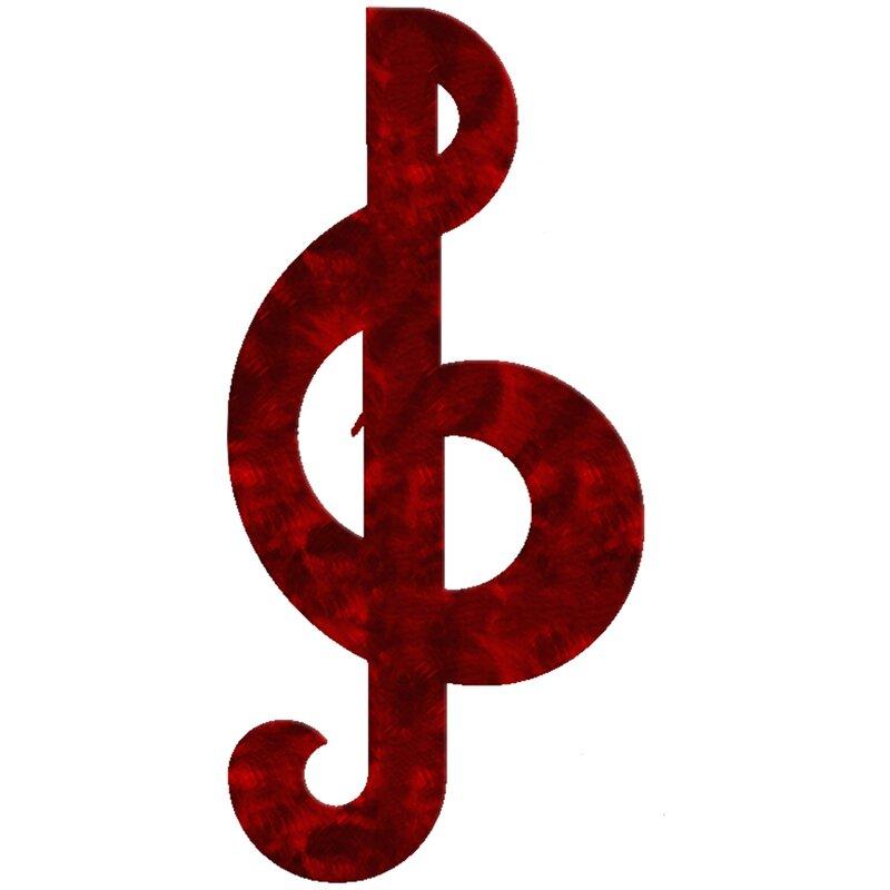 7055 Inc Musical Symbol Treble Clef Wall Décor Wayfair