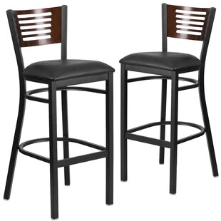 Check Prices Mat 32 Bar Stool (Set of 2) by Red Barrel Studio Reviews (2019) & Buyer's Guide
