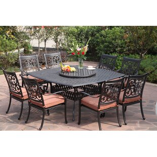 Mccraney 10 Piece Dining Set with Cushions