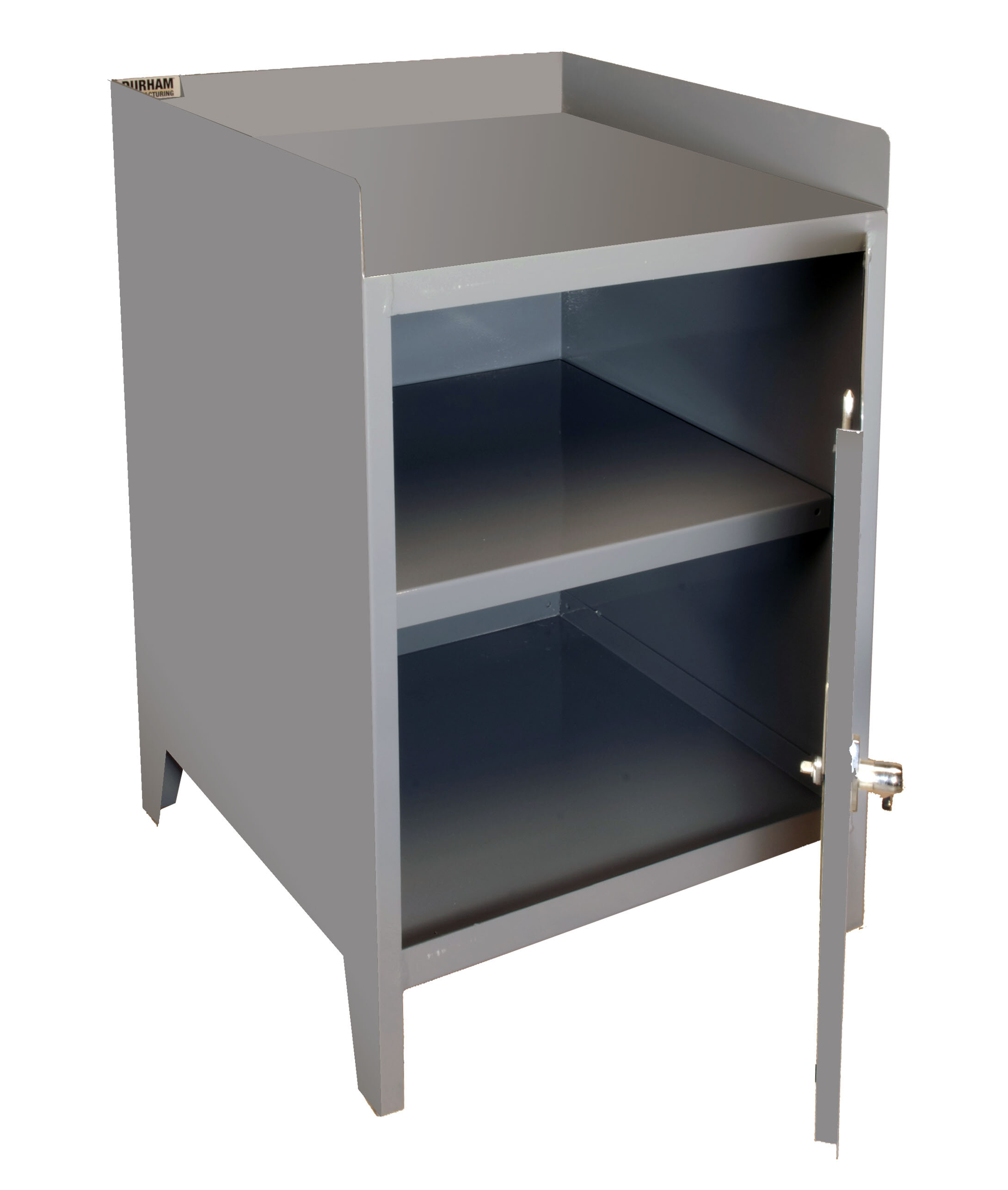 Durham Manufacturing 35 5 H X 24 W X 24 D Secure Mobile Bench Cabinet Wayfair