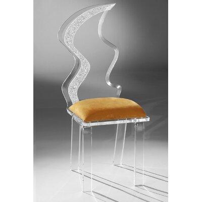 Superb Zig Zag Dining Chair Muniz Upholstery Color Orange Lamtechconsult Wood Chair Design Ideas Lamtechconsultcom