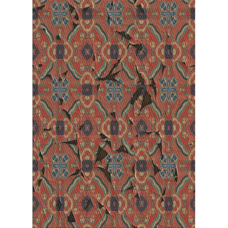 Latitude Run Archstone Patterned Red Blue Gray Area Rug Wayfair