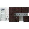 Garage cabinet sets