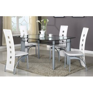 Global Trading Unlimited Metro 5 Piece Dining Set