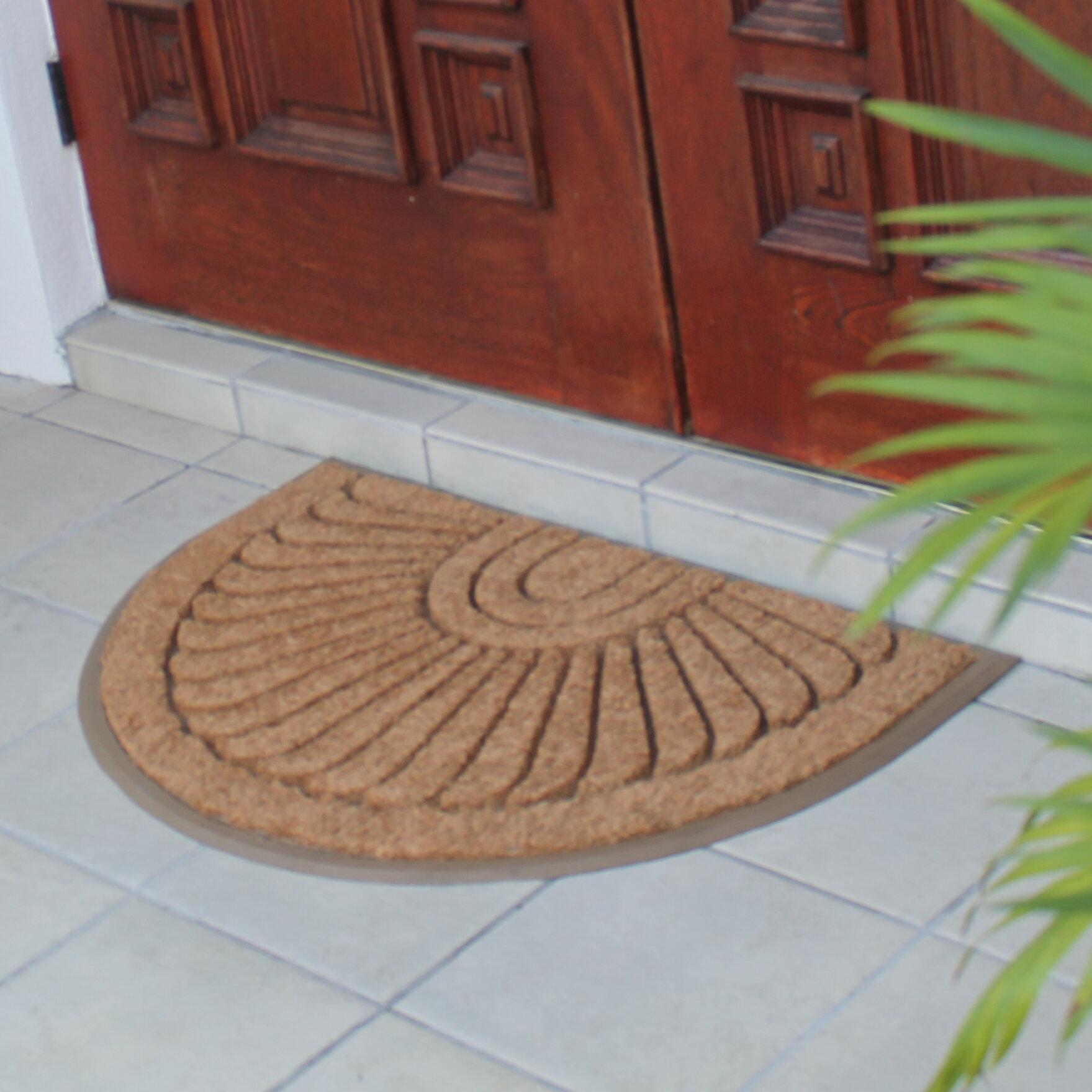 Delicieux Darby Home Co Albertina Sunburst Rubber And Coir Doormat | Wayfair