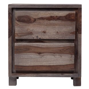 Mata 2 Drawer Nightstand by Loon Peak